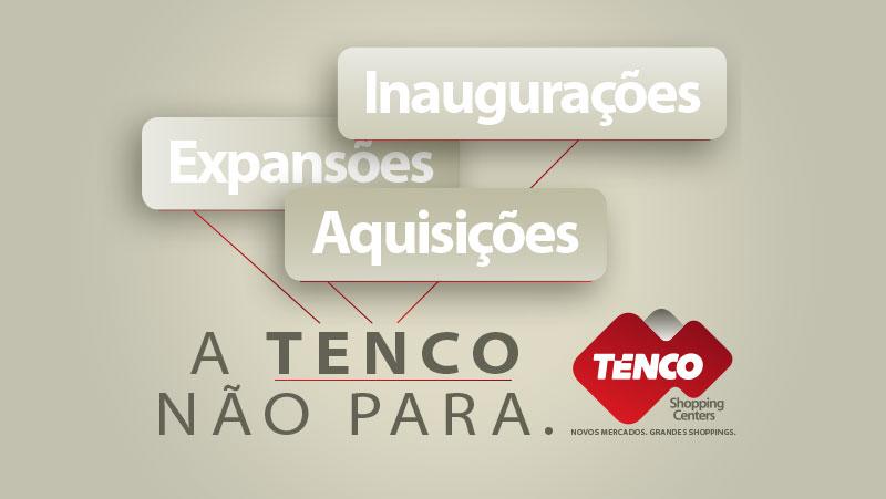 Ultrapassando fronteiras. Descobrindo grandes oportunidades. É assim que a Tenco segue conquistando o Brasil.