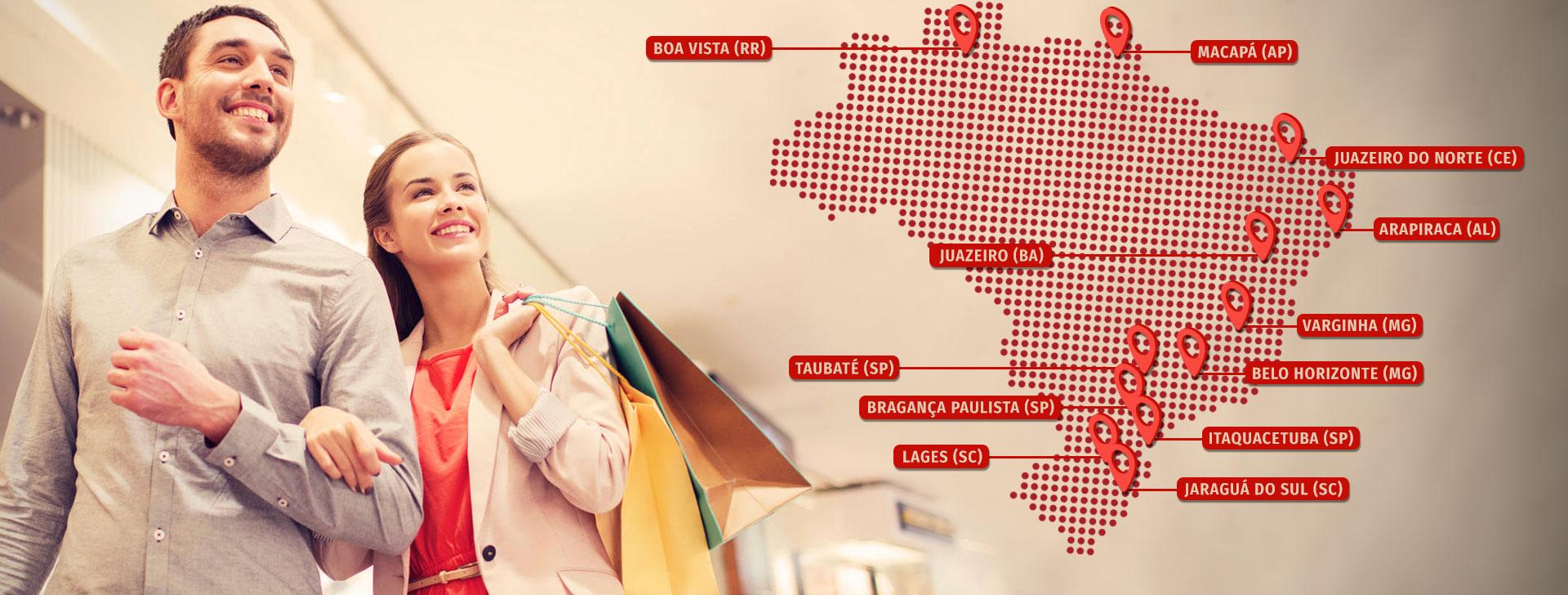 HOME - GRUPO TENCO - Mapa - Empreendimentos
